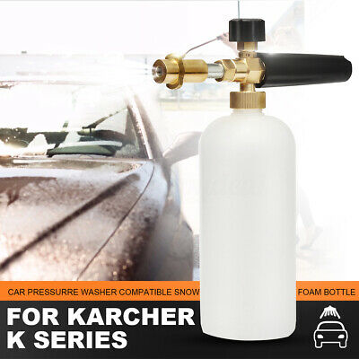 Heavy Duty Pressure Washer Foam Lance With 1L Bottle For Karcher K Series