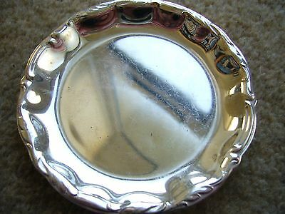 Vintage Wmf Silver Plated Tray/coaster