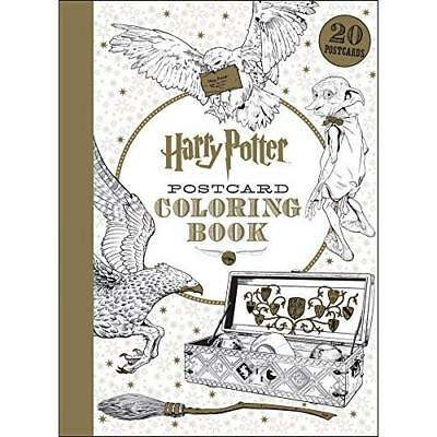 Harry Potter Postcard Coloring Book (Library Binding)