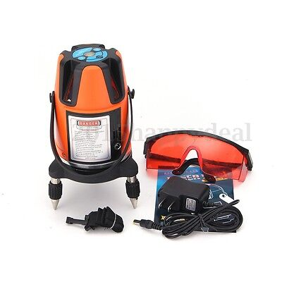 Professional Automatic Self Leveling Rotary Laser Level 5 Line 6 Point Measure