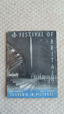 Festival of Britain News Chronicle Souvenir in Pictures