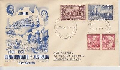 1951 Commonwealth Foundation First Day Cover