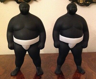 Japanese Sumo's Porcelain Figures (Very Different and Great Fun)