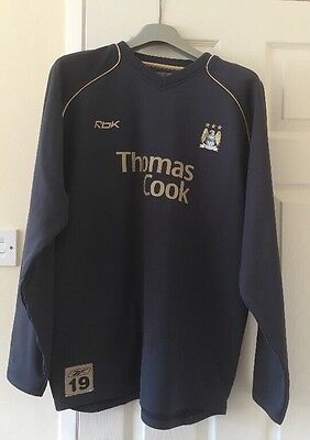 Manchester City football training top large