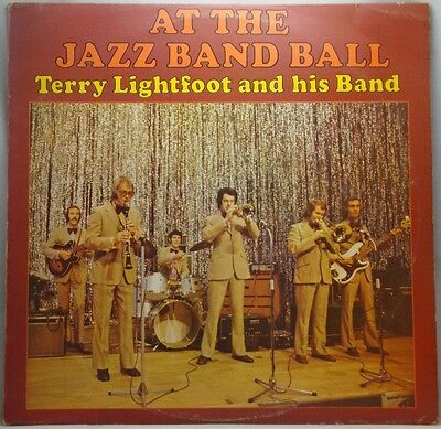 Terry Lightfoot And His Band At The Jazz Band Ball LP