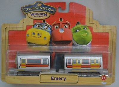 Chuggington Emery Wooden engine set BNIB