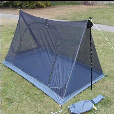 2 Person Mosquito Insect Net Backpacking Tent Outdoor Camping Hiking
