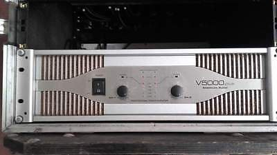 Finale American Audio V5000 Plus no Lab Gruppen Crown Powersoft