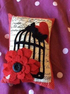 Deluxe Large Bespoke Ooak Pin Cushion Flower Cage