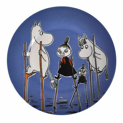 Moomin Dark Blue Dessert Plate - Stilts