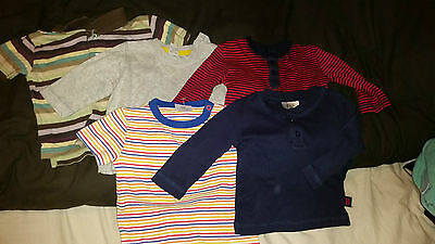 5 X Baby T Shirts  Age 3-6 Months F & F And Next