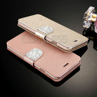 Luxury Flip Leather Slim Wallet Card Magnetic Case Cover For Samsung Galaxy