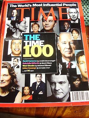 Time Magazine May 2011 The Time 100