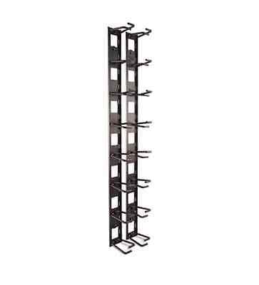 New APC AR8442 Vertical Cable Organizer - Manager Black