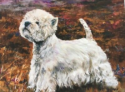 West Highland White Terrier Sale Of Unmounted Prints