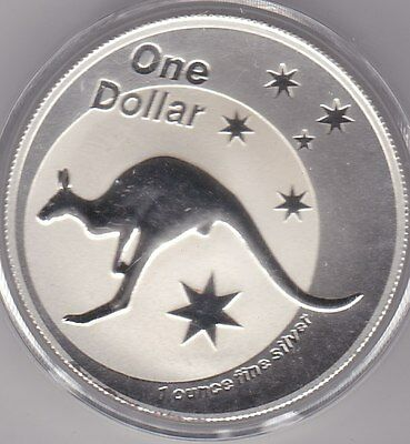 1 Oz Fine Silver One Dollar 2002
