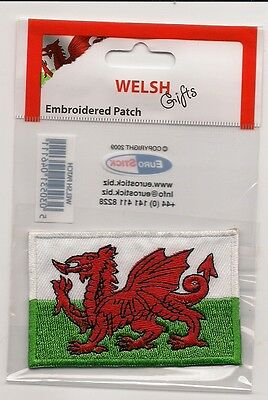 Country Of Wales Souvenir Travel Patch