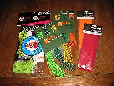 Brine/Flow Society/STX Lacrosse Stringing Kits - 5 Piece Set - NIPWT