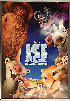 Cinema Poster: ICE AGE COLLISION COURSE 2016 (Faces One Sheet) Simon Pegg