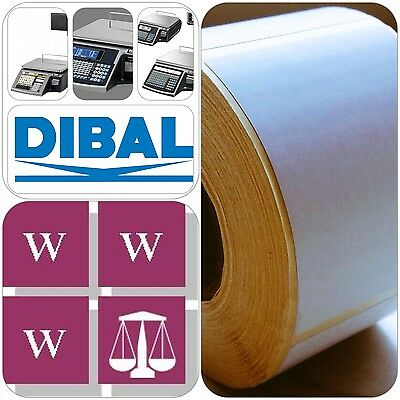 DIBAL Thermal  Scale Labels - 58mm x 70mm, 50 Rolls,  22,500 Labels