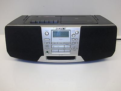 Sony CFD-S28L Portable CD FM, MW, LW Tuner Cassette Tape Boombox