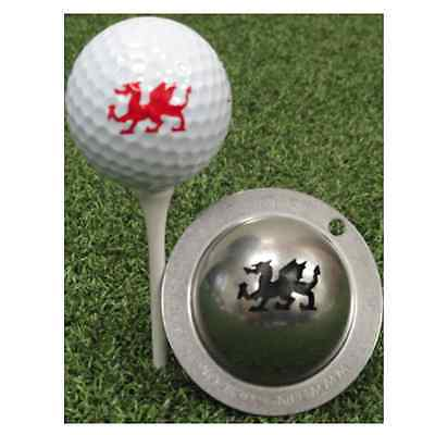 Tin Cup Golf Ball Marker - Firebreather - Free UK Delivery