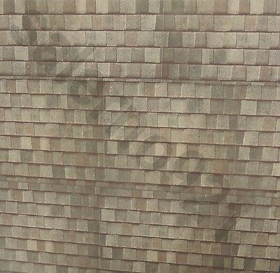 "TWO 8.5""x11""  Full Sheet Photo Stickers Roof Shingles Decals( For Roof,Siding..)"