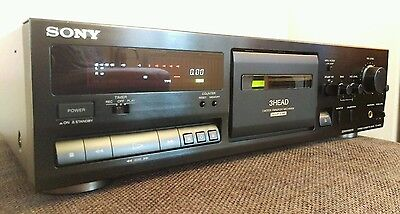 Fully Refurbished High End Dolby S Sony Cassette Tape Deck TC-K611S Near Mint
