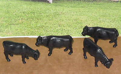 Mini Whinney / Mini Whinnie COWS - STEERS (4) Your Ranch & Horse Setups 1/64