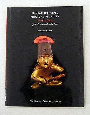 NAZCA NASCA Pre-Columbian ART Glassell Coll. PERU Gold Shell Miniatures Jewelry