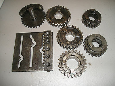 Maico gearbox parts lot- used