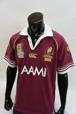 11ed79f9ede Canterbury State of Origin Queensland XXXX TEAM 25 YEARS Rugby Jersey SIZE M