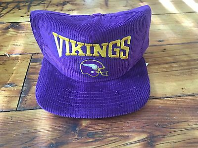 Minnesota Vikings Vintage Old Stock New Era NFL Hat Cap, NWT. Culpepper!!