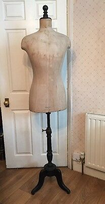 Antique Rare c1910 Stockman Mannequin Form Decorative French Vintage Shabby Chic