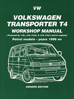 Volkswagen Transporter T4 VW Caravelle VW Vans PETROL 1996-99 Manual VW96WH NEW
