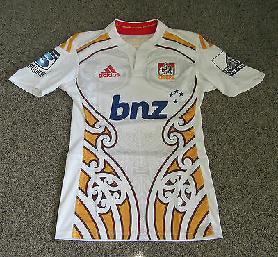 Waikato Chiefs Player Issue Super Rugby Jersey Shirt Maillot #9 All Blacks