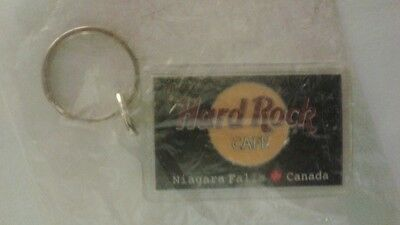 Hardrock Cafe Canada Souvenir Keychain New in Wrapper