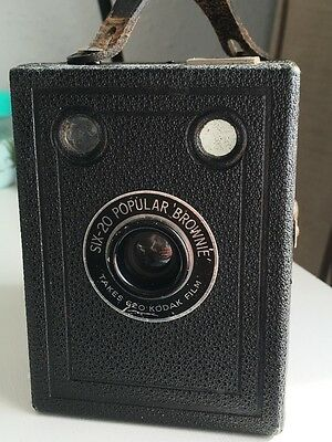 Kodak Brownie SIX-20 and Case