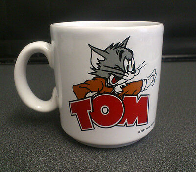 Vintage Tom & Jerry Mug / Cup 1991 Made in England