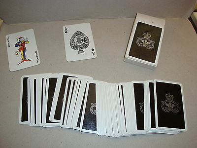 Deck Playing Cards - Prince Of Wales Crest