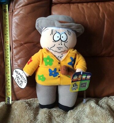 RARE talking mephesto South Park Toy 11 Inches Tall