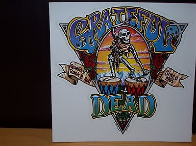 Grateful Dead Quality Rock And Roll Since 1965 Sticker New Officially Licensed