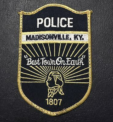 US Madisonville, Kentucky Police Patch