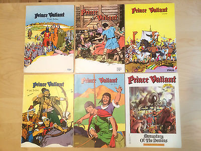 Prince Valiant 7 Newspaper-Reprint-Bücher books Hal Foster 1954-1962 large size