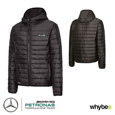 2016 Mercedes-AMG F1 Formula One Team Mens Lightweight Packable Padded Jacket