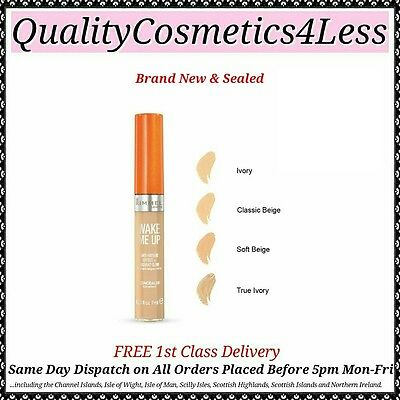 Rimmel Wake Me Up Concealer 7ml - Sealed + FREE 1st Class Delivery