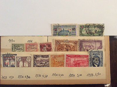 Lot timbres Syrie