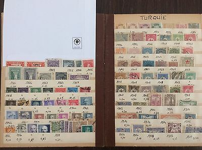 Lot timbres Turquie