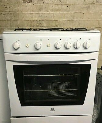 Gas cooker 60cm INDESIT full size single oven