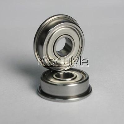 1pc 3×6×2.5mm MF63zz Mini Metal Double Shielded Flanged Ball Bearings MO